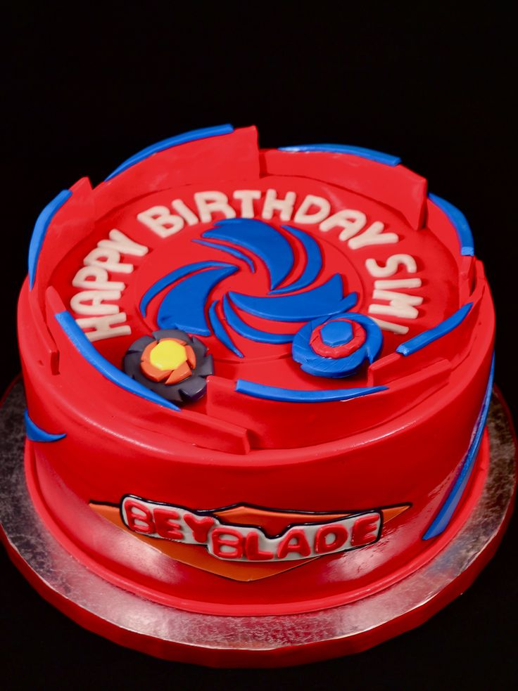 BeyBlade | by GO Custom Cakes by B