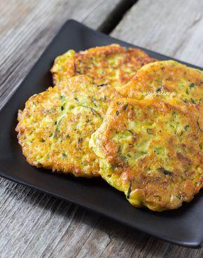 Courgette-maiskoekjes - Nombelina.com