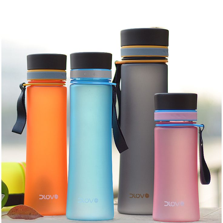 Cups Plastic Portable Sports Kettle Large Capacity Scrub Space Cup Student Accompanied By Water Bottles Readily Cup