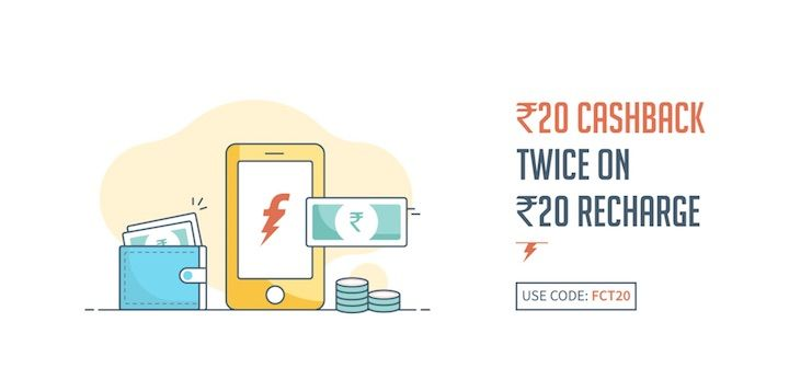 FreeCharge Offers and Discounts
