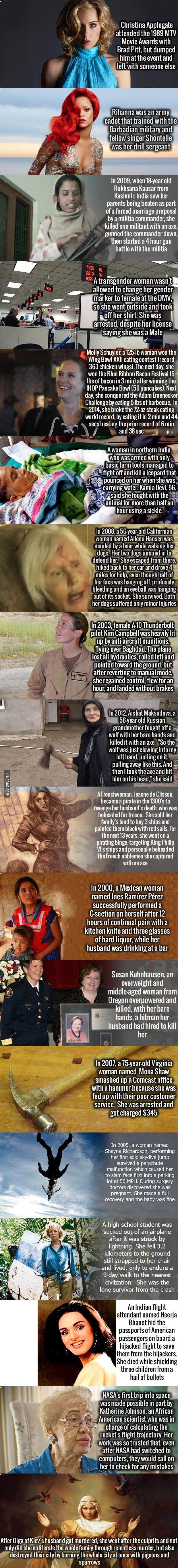 These 18 Women Never Made It Into History Books, But They Should Have.