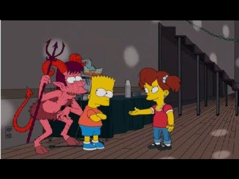 """Los Simpson #22*HD """"Los bravucones"""" Mejores Capitulos Completos En Español Latino - VER VÍDEO -> http://quehubocolombia.com/los-simpson-22hd-los-bravucones-mejores-capitulos-completos-en-espanol-latino    Después de que Bart es intimidado en su escuela, Marge decide convencer al pueblo de que se apruebe una ley Anti-Bullying. Despues de esto Homero es arrestado y enviado a rehabilitación por molestar mucho a Flanders para luego dejar la rehabilitación como un héroe."""