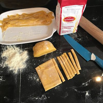 Fresh egg pasta - Recipe - Warm Cocotte