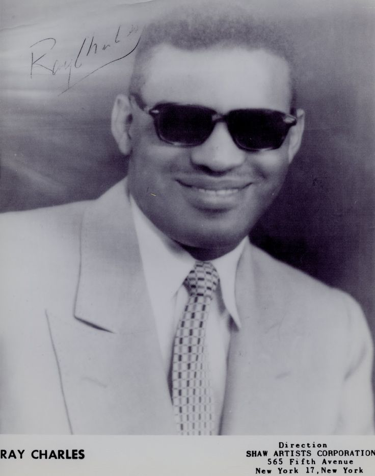 best ray charles images ray charles piano and  rare early c portrait of ray charles for shaw artists