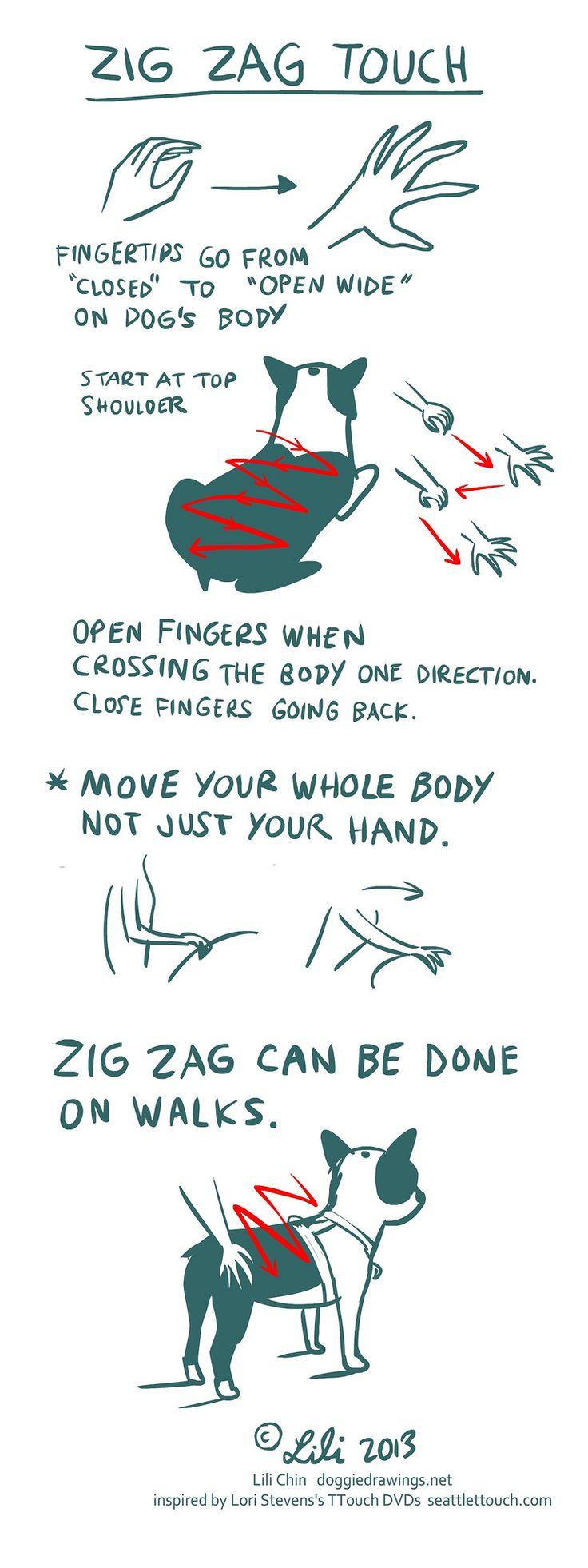 Zig Zag Rub. I use this a lot.