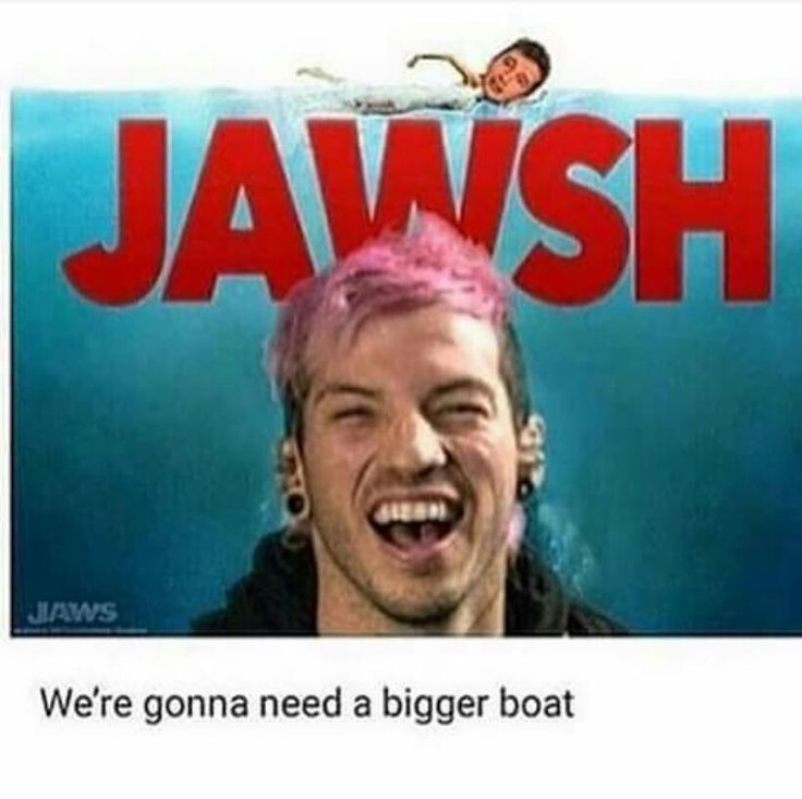 Hahahhahaha------- don't you mean we're going to need a bigger SHIP?