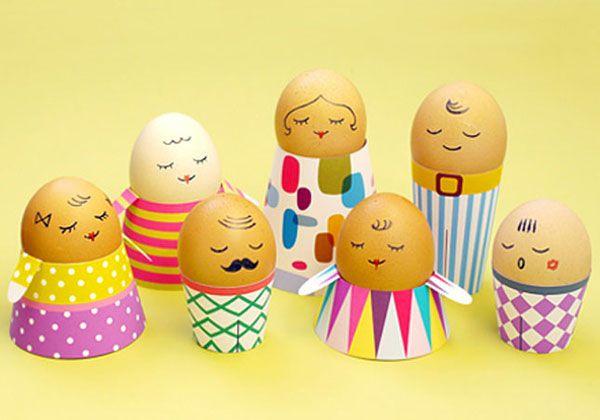 Uova Pasqua Decorate 36