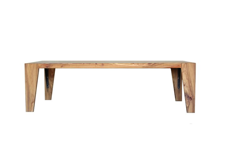 Wolkberg Furniture: Trapeze dining table- Designed and manufactured in South Africa. www.wolkberg.com
