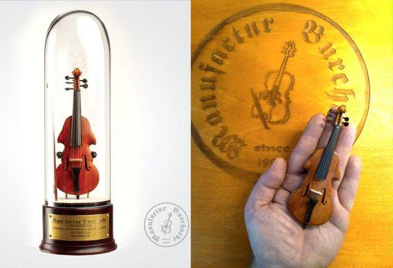 Handmade miniature instrument  5-string by ManufacturBurchardt