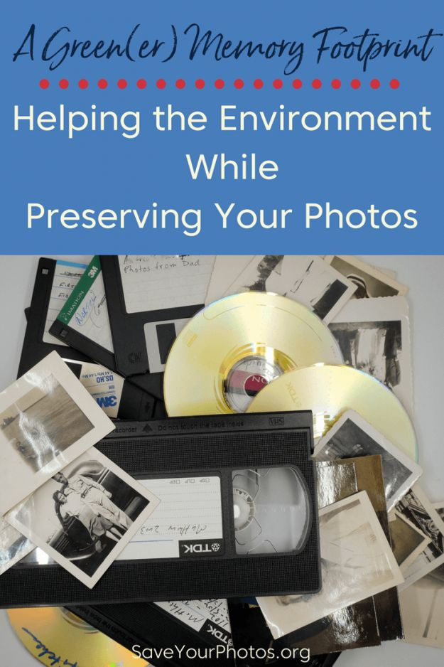 How to recycle & repurpose old photos, VHS tapes, DVDs, CDs  & film #saveyourphotos | SaveYourPhotos.org