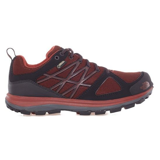 The North Face Litewave GTX - Bitter Chocolate Brown/Brick House Red