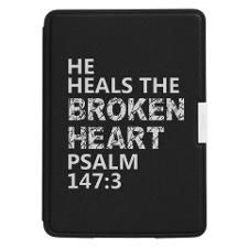HE HEALS THE BROKE Kindle Paperwhite Leather Cover