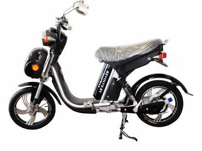 Revolve Easy Rider 350W Lithium Battery Electric Moped Bike - Free Shipping - Motobuys.Com