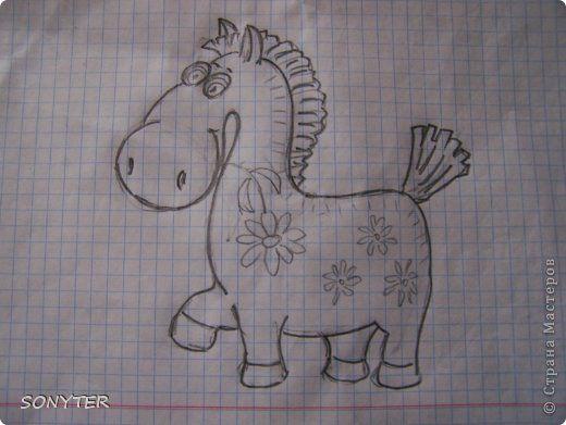 Поделка изделие День рождения Новый год Лепка А пони тоже кони  И снова сова  Гуашь Тесто соленое фото 23