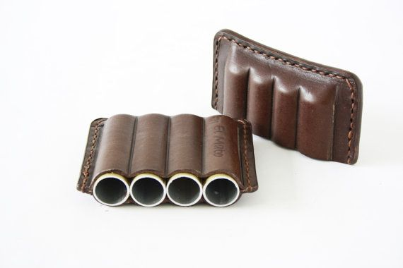 LEATHER CIGAR CASE, brown cigar holder, Bags and accessories, Cigarette case, Men accessories, Smoking accessories, Cigar box, Gift for him