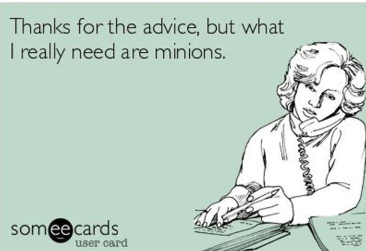 Minions, great concept!