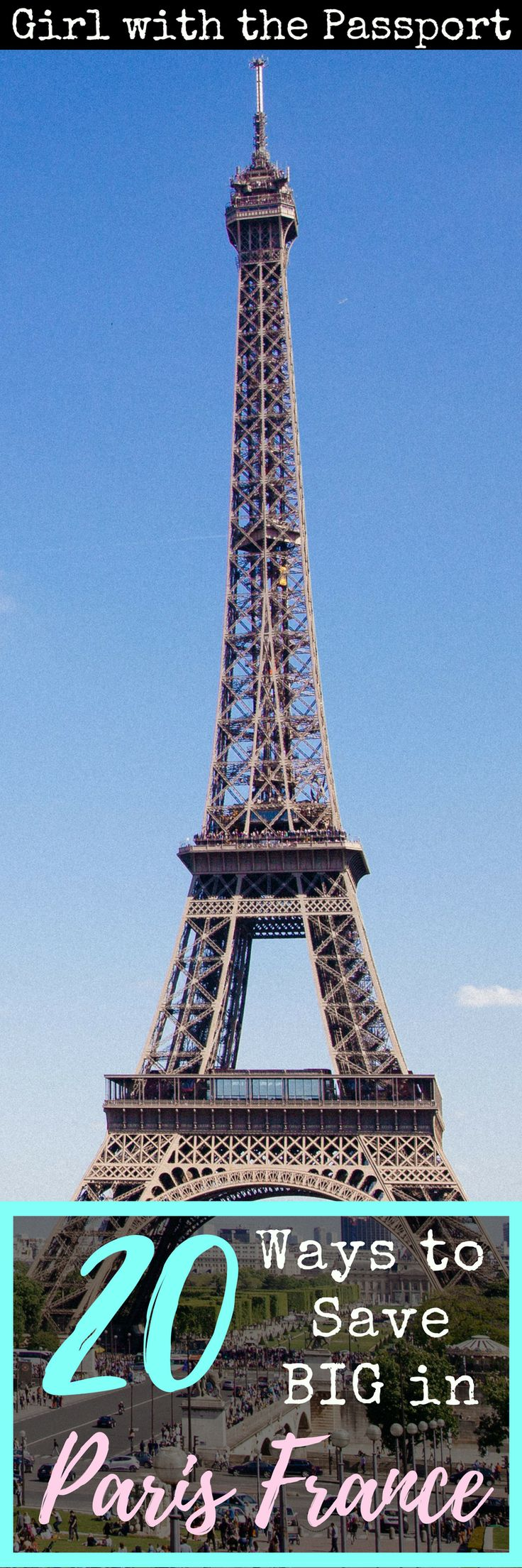 Are you a budgettraveler in Paris France
