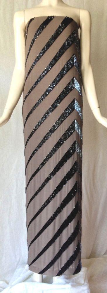Vintage 70 S Strapless Bob Mackie Gown