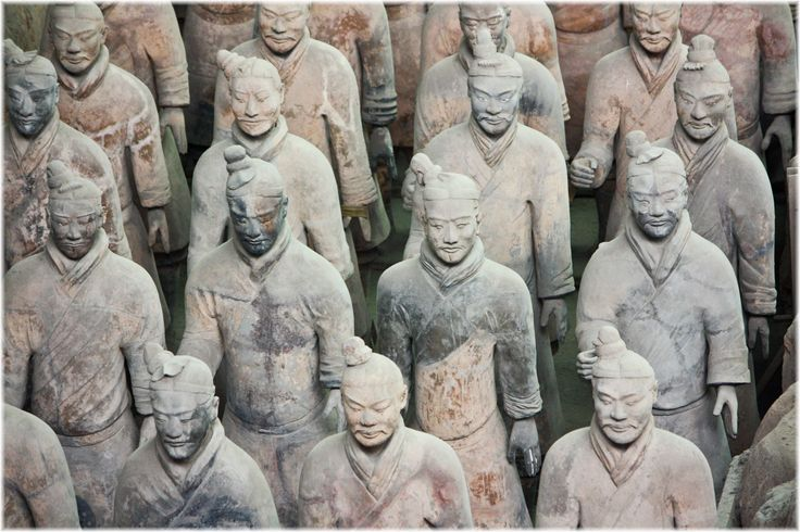 Terracotta leger, Xi'an, China ©Inge Beltman
