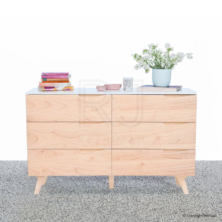 Looking for Scandinavian & Danish Dressers? Check out the Clarence Chest Dresser, complete the retro/vintage look. Buy online with fast delivery!