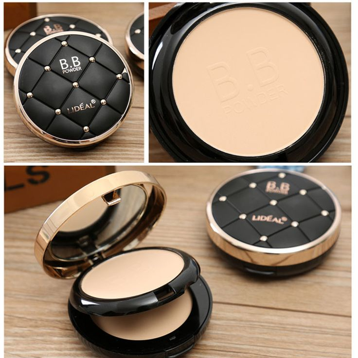 Luxury Makeup Mineral Foundation 2 Layer Waterproof Whitening Brighten Face Matte Powder Palette Contouring Makeup-in Powder from Beauty & Health on Aliexpress.com | Alibaba Group