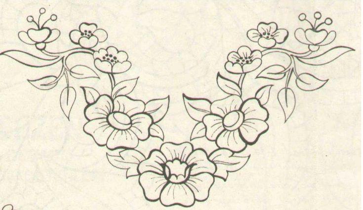 Kumaş Boyama Desenleri 3 | Anlatımlı açıklamalı örgü sitesi