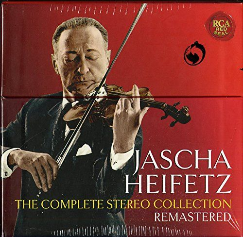 Jascha Heifetz – The Complete Stereo Collection Remastered