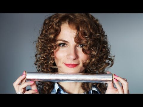 Păr creț cu folie de aluminiu (staniol), fără placă - YouTube