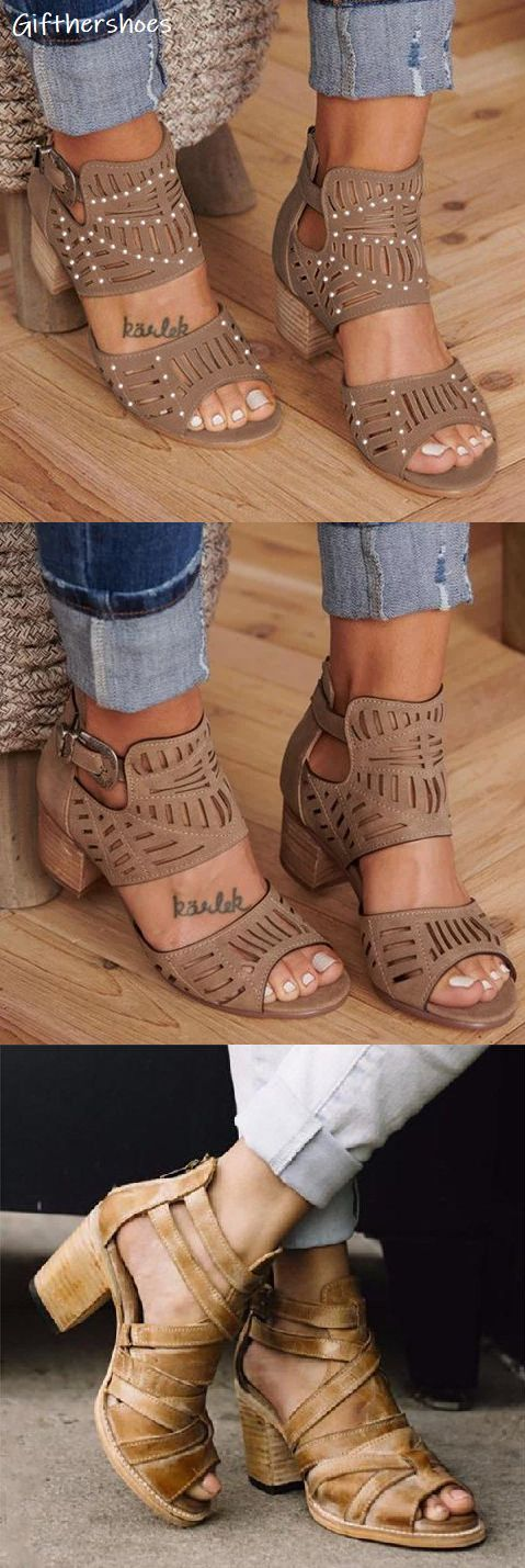 SHOP NOW>>75% OFF! 20+ Hot Chunky Sandals Shoes Picks for Your Daily Outfits.Mus…