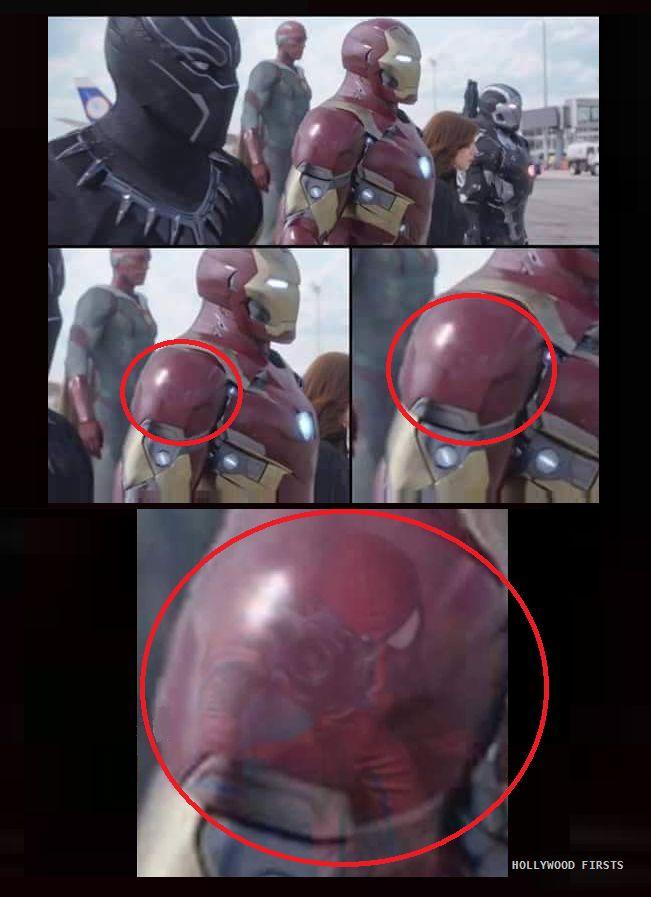 Confirmed! #SpiderMan in Captain America: Civil War!