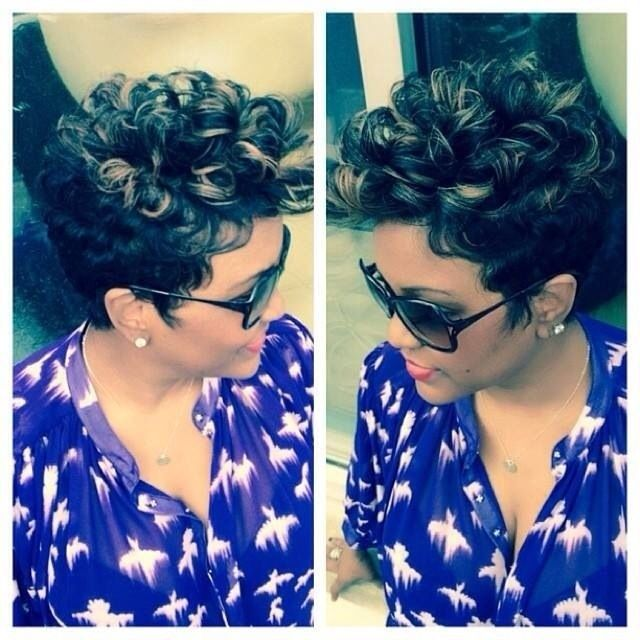 Stylish Short Haircuts for African American Women