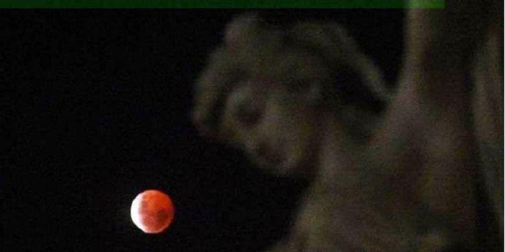 Heboh, beredar foto gerhana bulan dan banyangan Jesus | Trending Topik Terbaru