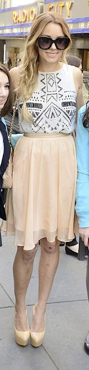 Shoes - Casadei Purse - Chanel Bracelet - Anita Ko Skirt - Paper Crown Sunglasses – Emmanuelle Khanh Paper Crown 'Lily' Silk Chiffon Skirt Paper Crown by Lauren Conrad Willow Maxi Skirt Anita Ko Spiked 14-karat rose gold diamond bracelet Similar style shoes by the same designer Casadei platform pu