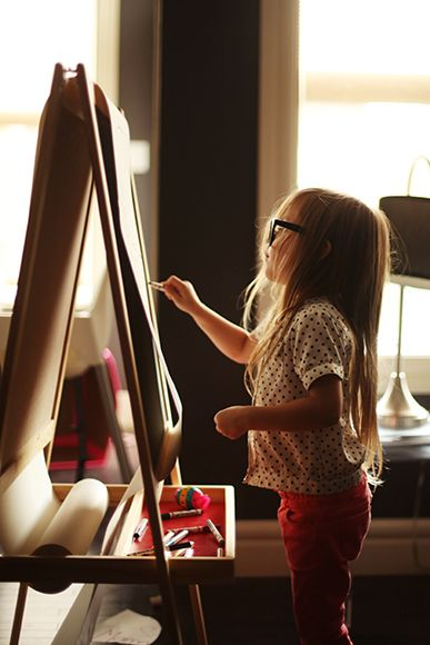 little artist, my future kid.
