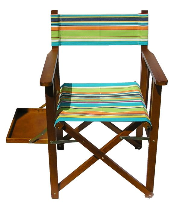 Replacement Directors Chair Covers   Made For You In Any Of Our Striped Canvas  Fabrics Australia