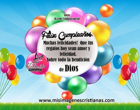 Imágenes Cristianas De Feliz Cumpleaños –Bendicion de Dios