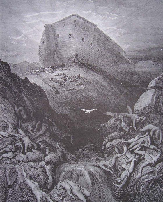 Gustave Doré's Engravings of the Great Flood