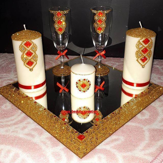 ❤ Plateau pour mariés Rouge et Or à personnaliser ❤ pour + d'info, ça se passe en PV. Composition: - Miroir 30×30 - 2 bougies 15cm à personnaliser - 2 flûtes à personnaliser - 1 bougie 8cm #gold#red#rouge#plateaupersonnalisé#plateaubougie#flutes#bougies#strassetpaillettes#or24k#or#mariage#wedding#bridal#amour#passion#love#nya_beauty_creation#paris#mehendi#henna#henné#evenement#personnalisation#india#oriental#comores#massiwa#massiwa269#ngazidja#oukoumbi