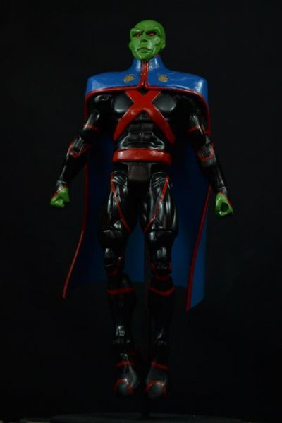 Young Justice Invasion Martian Man Hunter (Young Justice) Custom Action Figure