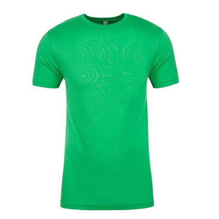 Blank Kelly Green Cotton Short Sleeve T-Shirt