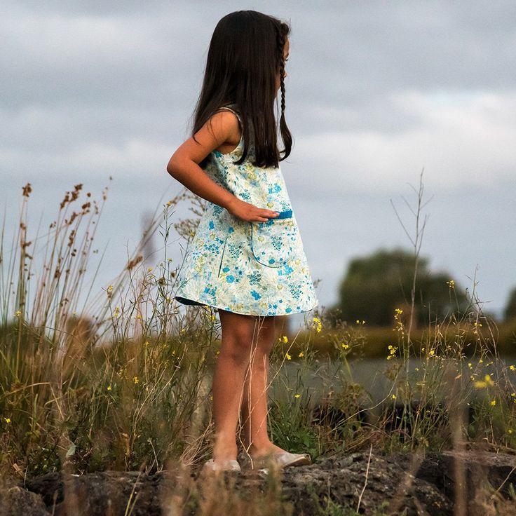 Petal Wrap Dress + Tunic