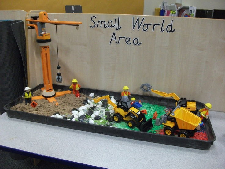 Build a House topic...Small World Area