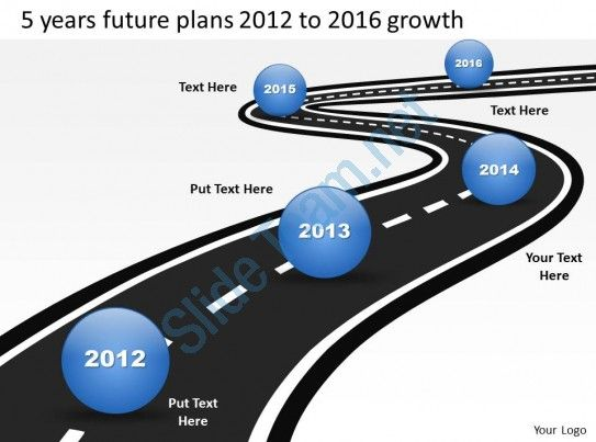 30 best timelines powerpoint templates images on pinterest product roadmap timeline 5 years future plans 2012 to 2016 growth powerpoint templates slides slide01 toneelgroepblik Image collections