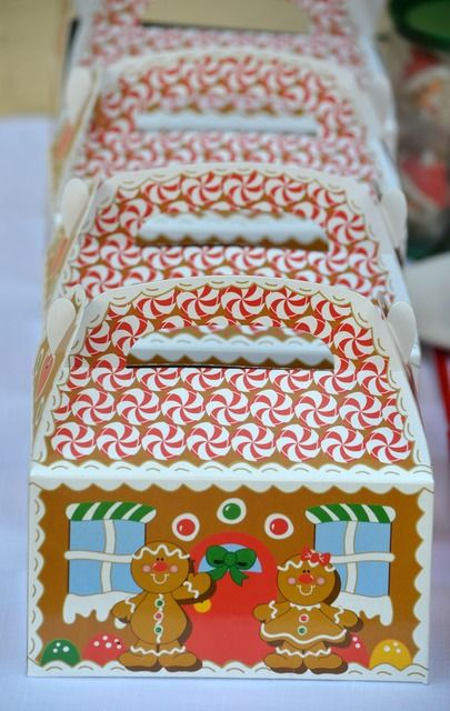 Gingerbread House Christmas Holiday Party Ideas