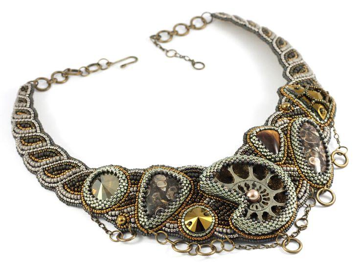 NatashaBiser.ru - украшения из бисера, украшения ручной работы, купить украшения, продажа украшений - Колье (0341)