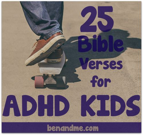 5 reasons to homeschool your child with ADHD; includes verses to counter negative behaviors