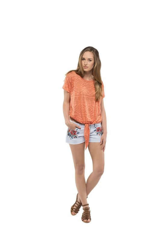T-Shirt Fashion Element TRACY CORAL