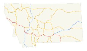 Interstate 90 in Montana - Wikipedia, the free encyclopedia