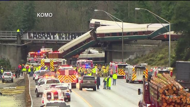 Amtrak train derails from overpass onto interstate, killing passengers taking inaugural trip on new route – FOX 4 Kansas City WDAF-TV   News, Weather, Sports