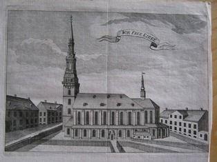 Vor Frue Kirke, Domkirken i København, 1738